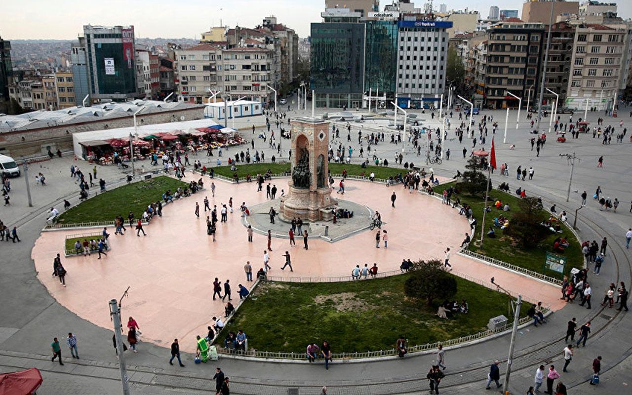 Taksim'de Özel Harekat'ı alarma geçiren olay