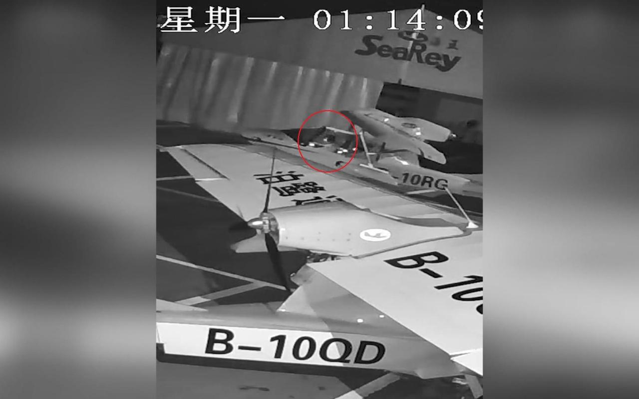 Çin'de akıl almaz hırsızlık olayı! Hangardan uçak çaldı uçmaya çalıştı