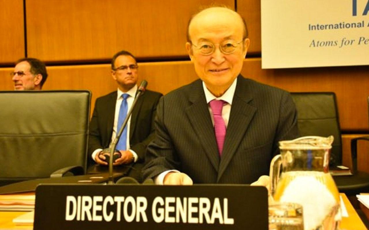 Uluslararası Atom Enerjisi Kurumu Başkanı hayatını kaybetti