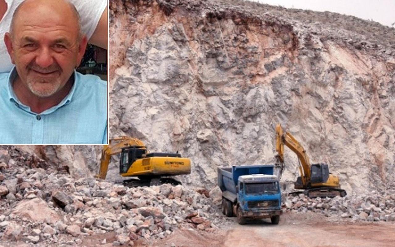 Körfez'de taş ocağı işçisi ölü bulundu