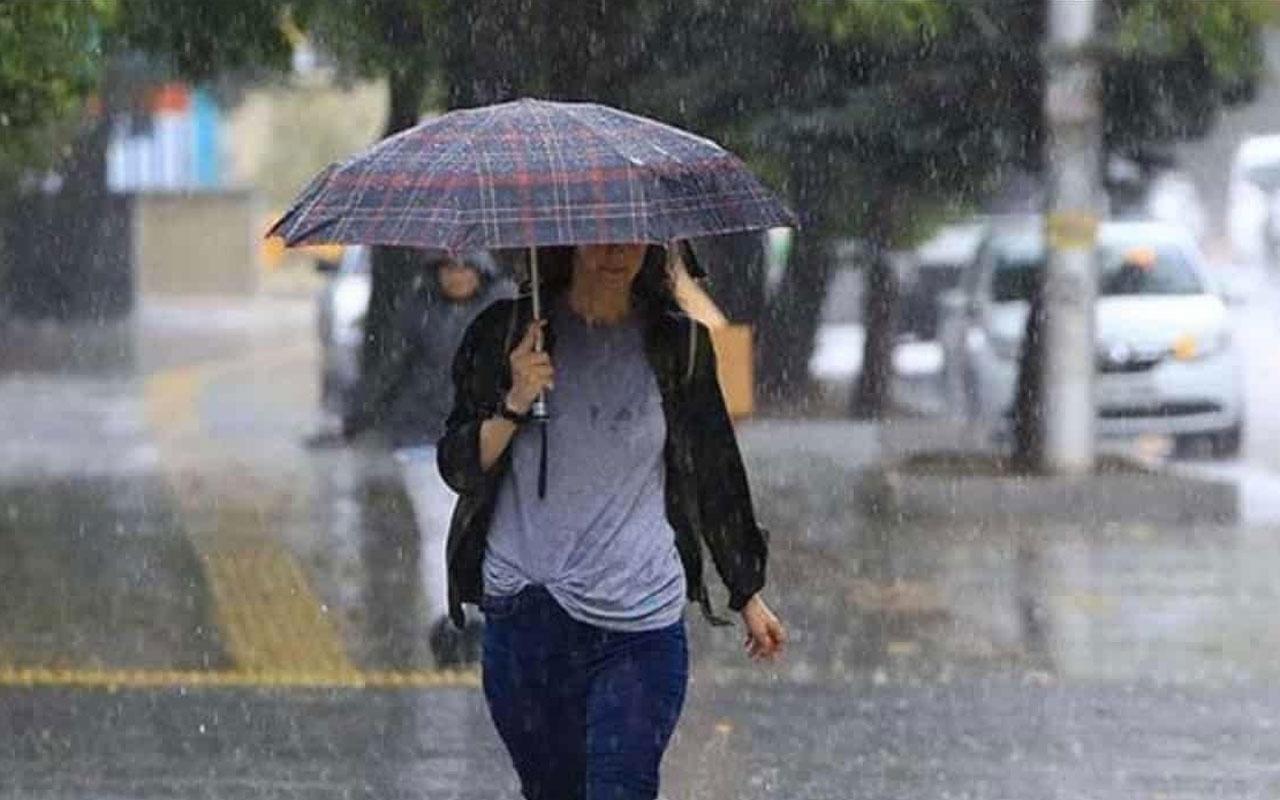 Hava sıcaklıkları değişecek mi? Meteoroloji'den sağanak yağış uyarısı