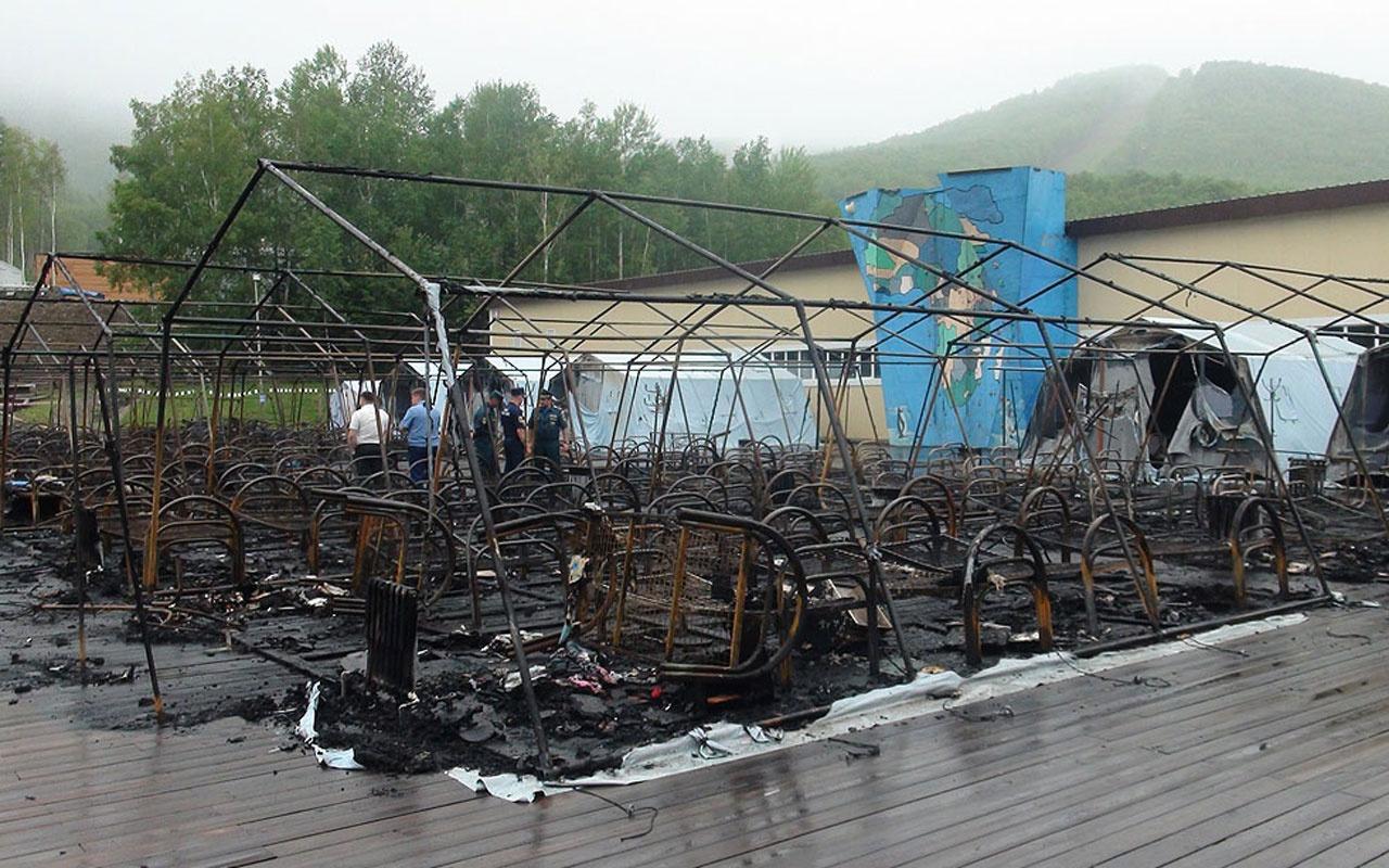 Rusya'da çocuk kampında yangın faciası! 4 ölü