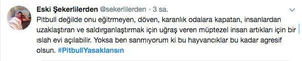 Adana'daki dehşet olay sonrası 'PitbullYasaklansın' etiketi TT oldu - Sayfa 4