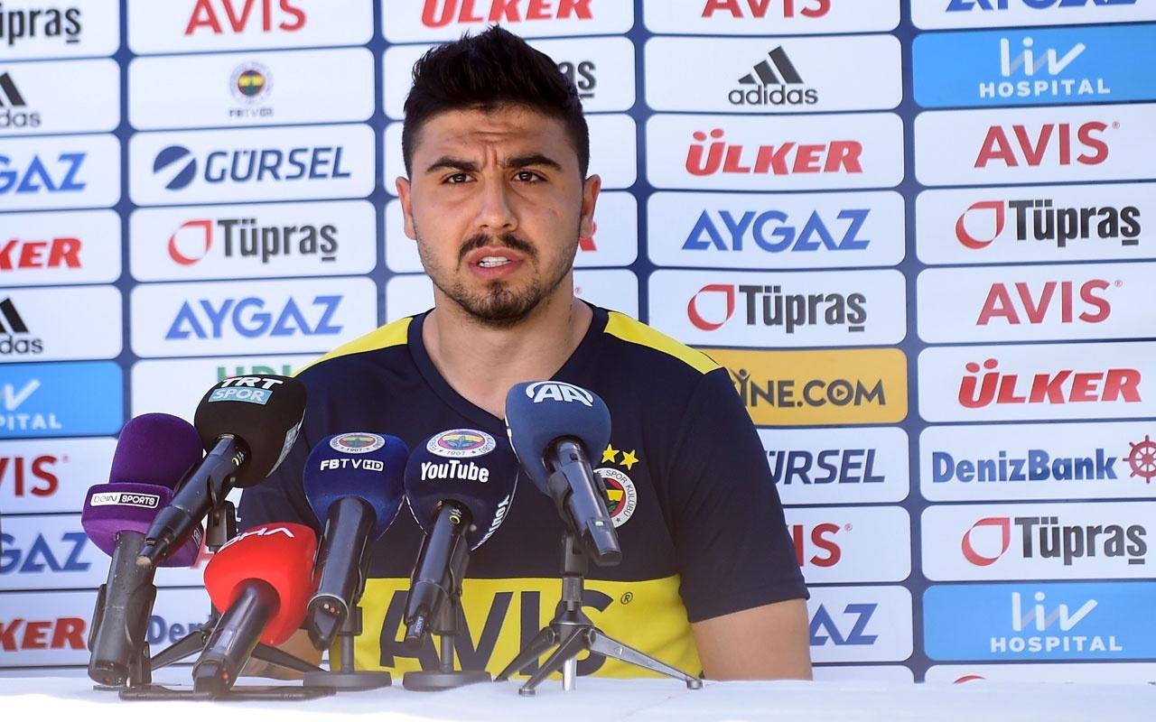 Ozan Tufan, Fenerbahçe'den ayrılınca depresyona girmiş