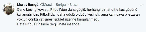 Adana'daki dehşet olay sonrası 'PitbullYasaklansın' etiketi TT oldu - Sayfa 8