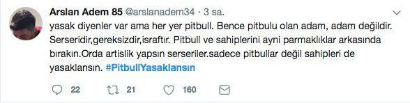 Adana'daki dehşet olay sonrası 'PitbullYasaklansın' etiketi TT oldu - Sayfa 9