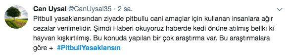 Adana'daki dehşet olay sonrası 'PitbullYasaklansın' etiketi TT oldu - Sayfa 10
