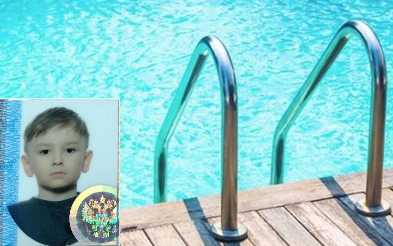 Antalya'da otelin havuzuna düşen Rus çocuk boğuldu!