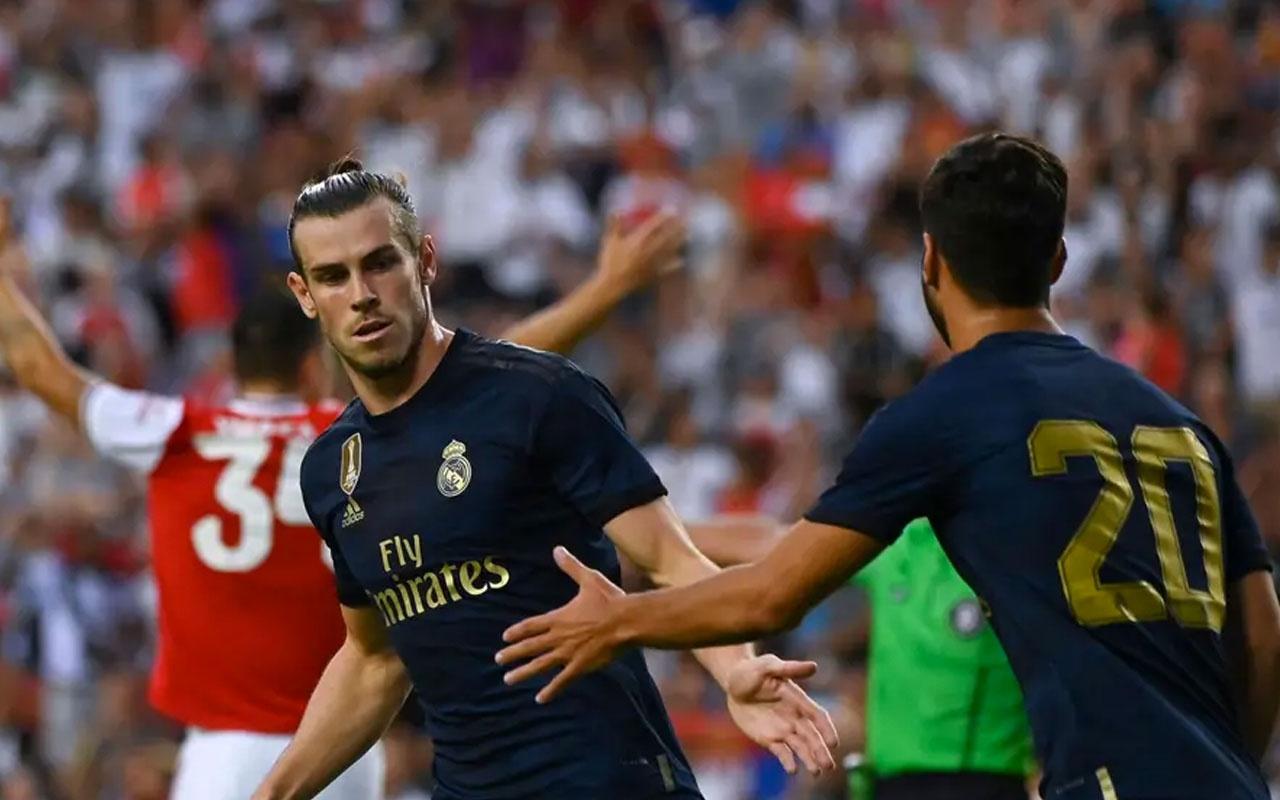 Real Madrid Mesut'lu Arsenal'i yıktı