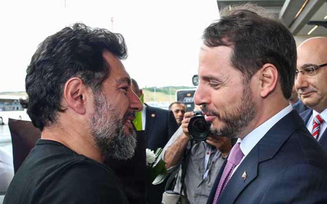 Hakan Atilla Türkiye'de Bakan Berat Albayrak karşıladı