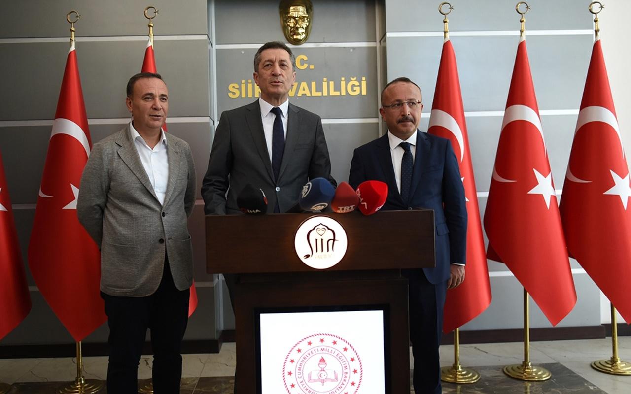Milli Eğitim Bakanı Ziya Selçuk Siirt'te açıkladı ilçelerimizde yaygınlaştıracağız
