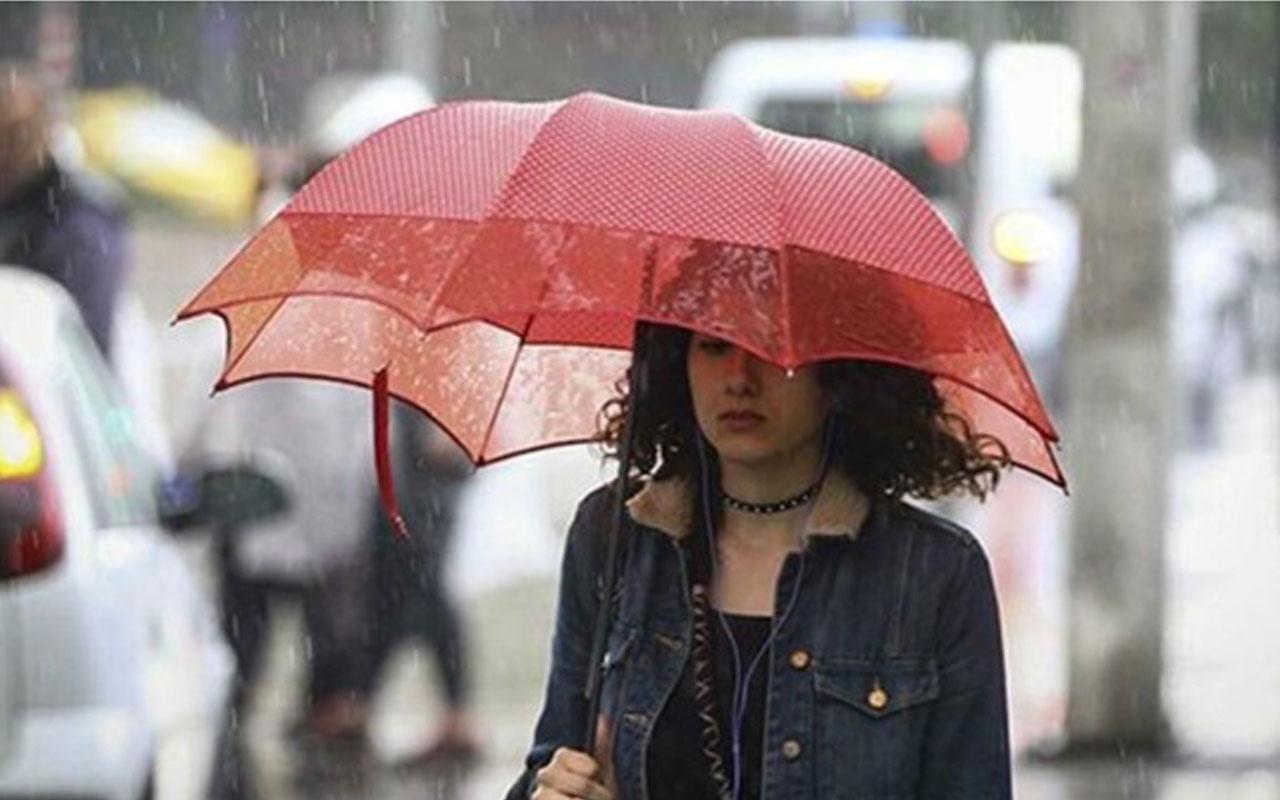 Meteoroloji'den 3 il için sağanak yağış uyarısı! İşte 5 günlük hava durumu