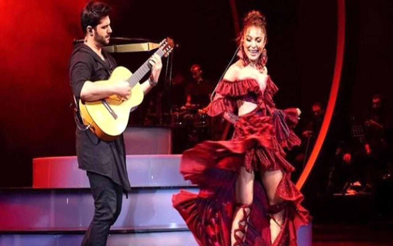 Ziynet Sali konserinde aşka geldi! Genç sevgilisiyle olay dans