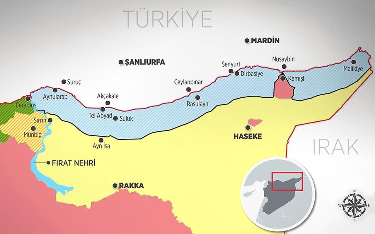Güvenli bölge oluşturulması ile ilgili Suriye'den açıklama: Reddediyoruz