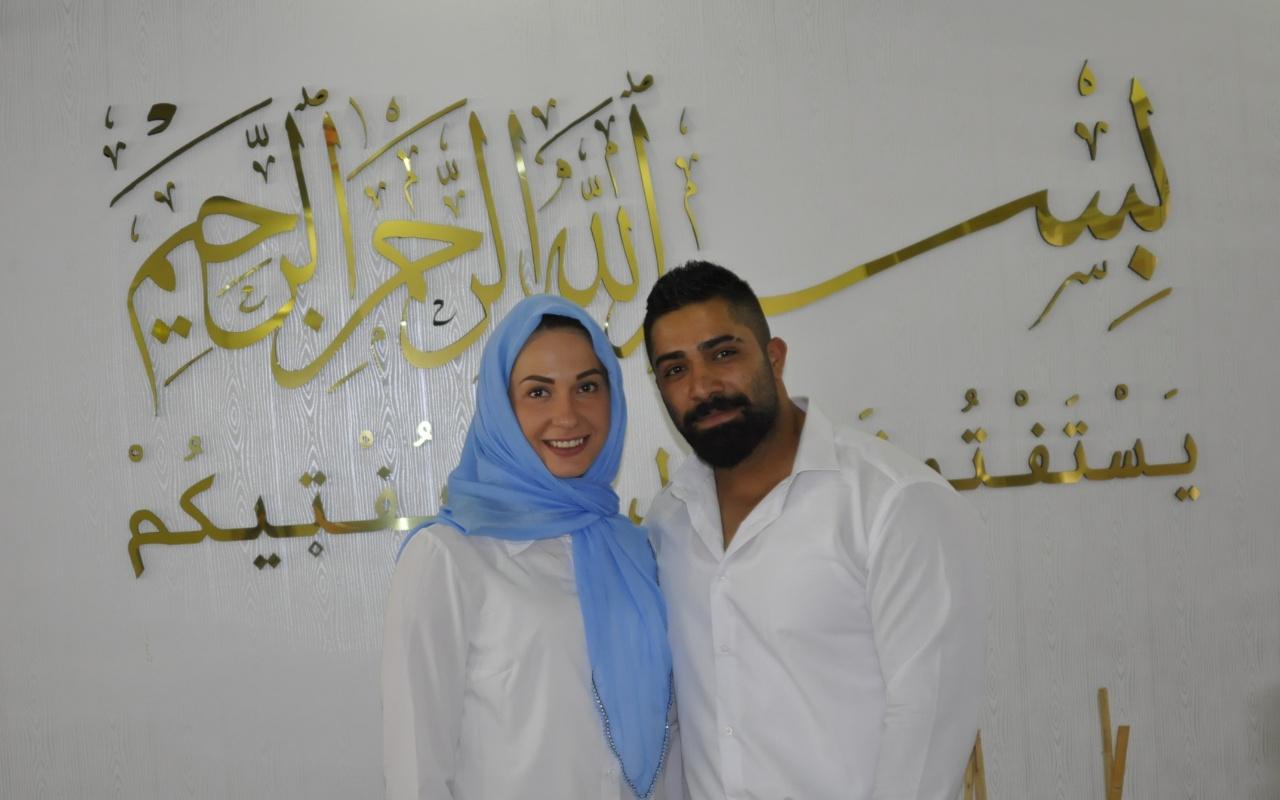 Gaziantep'te Ukraynalı Antonina aşkı için Müslüman oldu