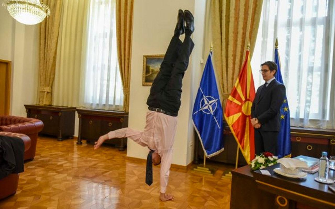 İsrail Büyükelçisi'nin çok konuşulan diplomatik ziyareti! Akrobatik gösterisi olay oldu