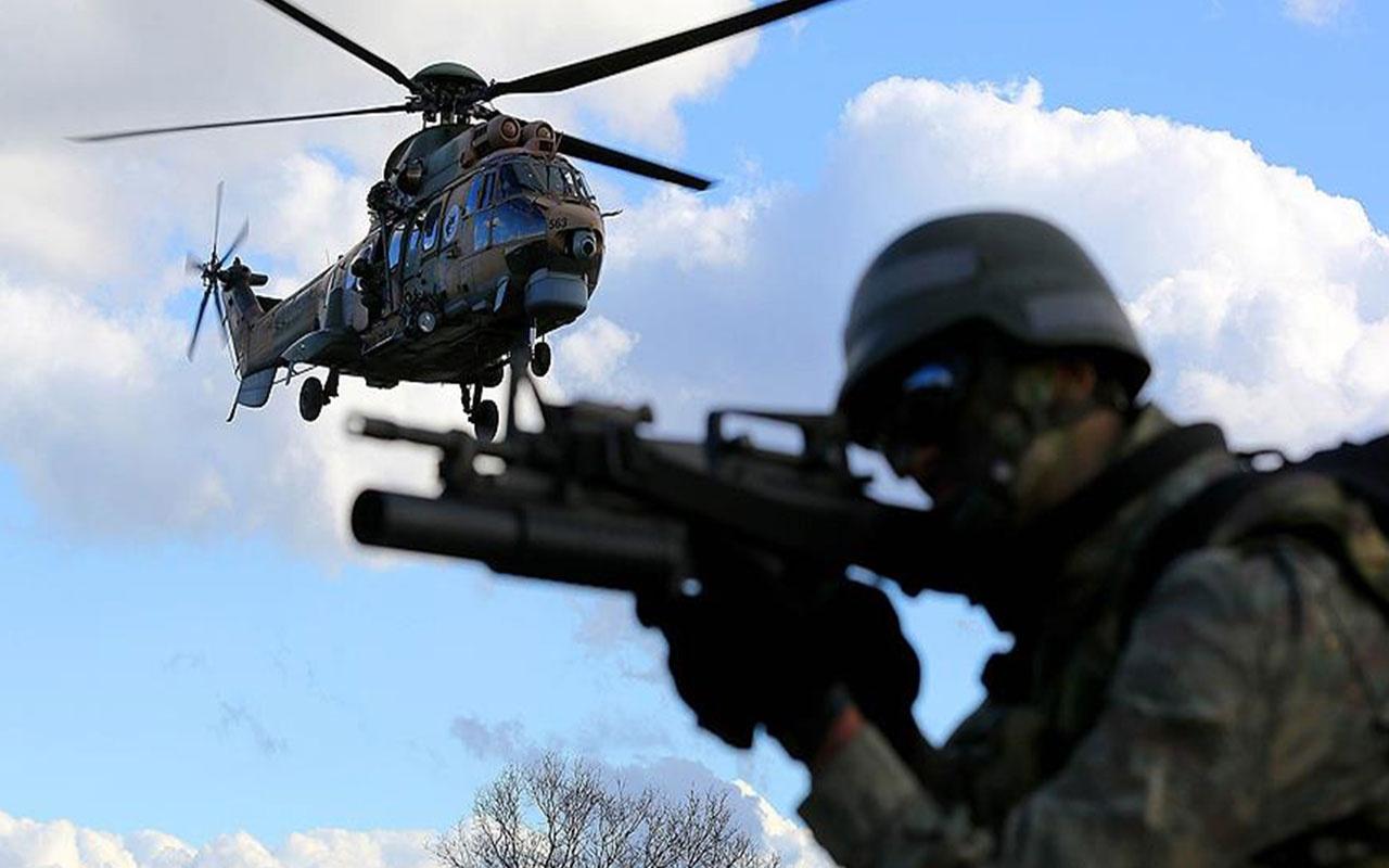 Sınır ötesinde PKK'ya büyük darbe! 34 terörist etkisiz hale getirildi