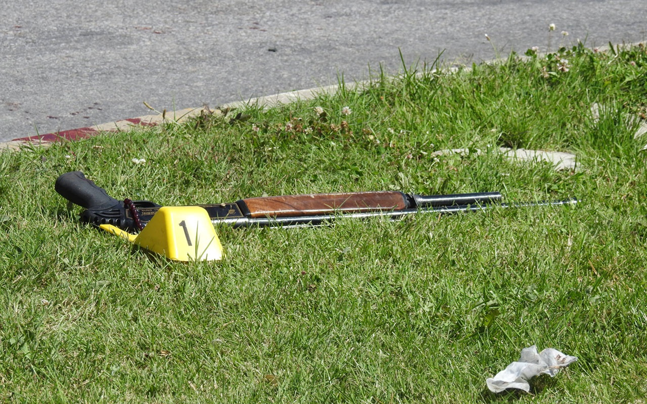 Çorum'da pompalı tüfekle vurulan 2 kişi yaralandı