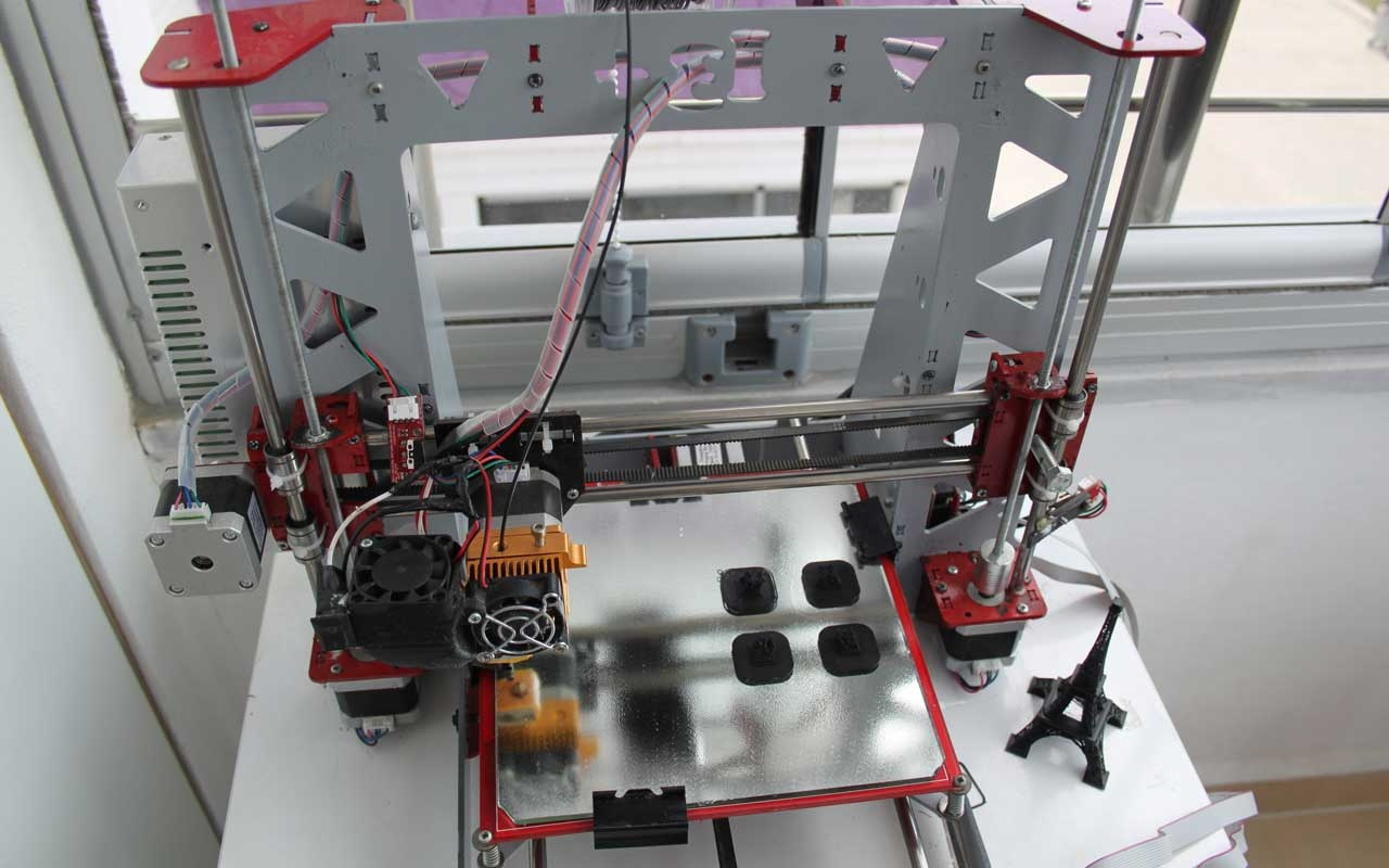 İlham geldi 2 ay içinde 3D yazıcı yaptı