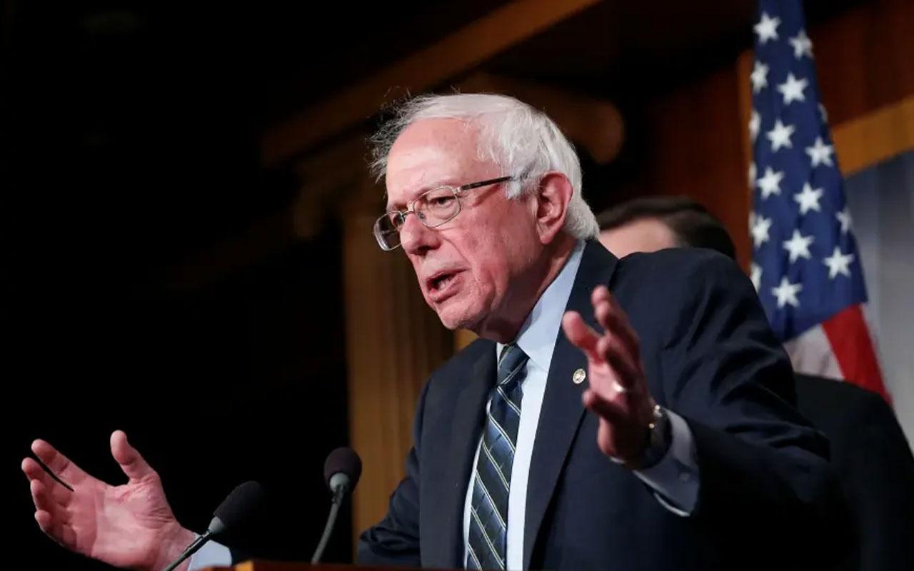 Demokrat Parti adayı Bernie Sanders'den Başkan Donald Trump'a uyarı!