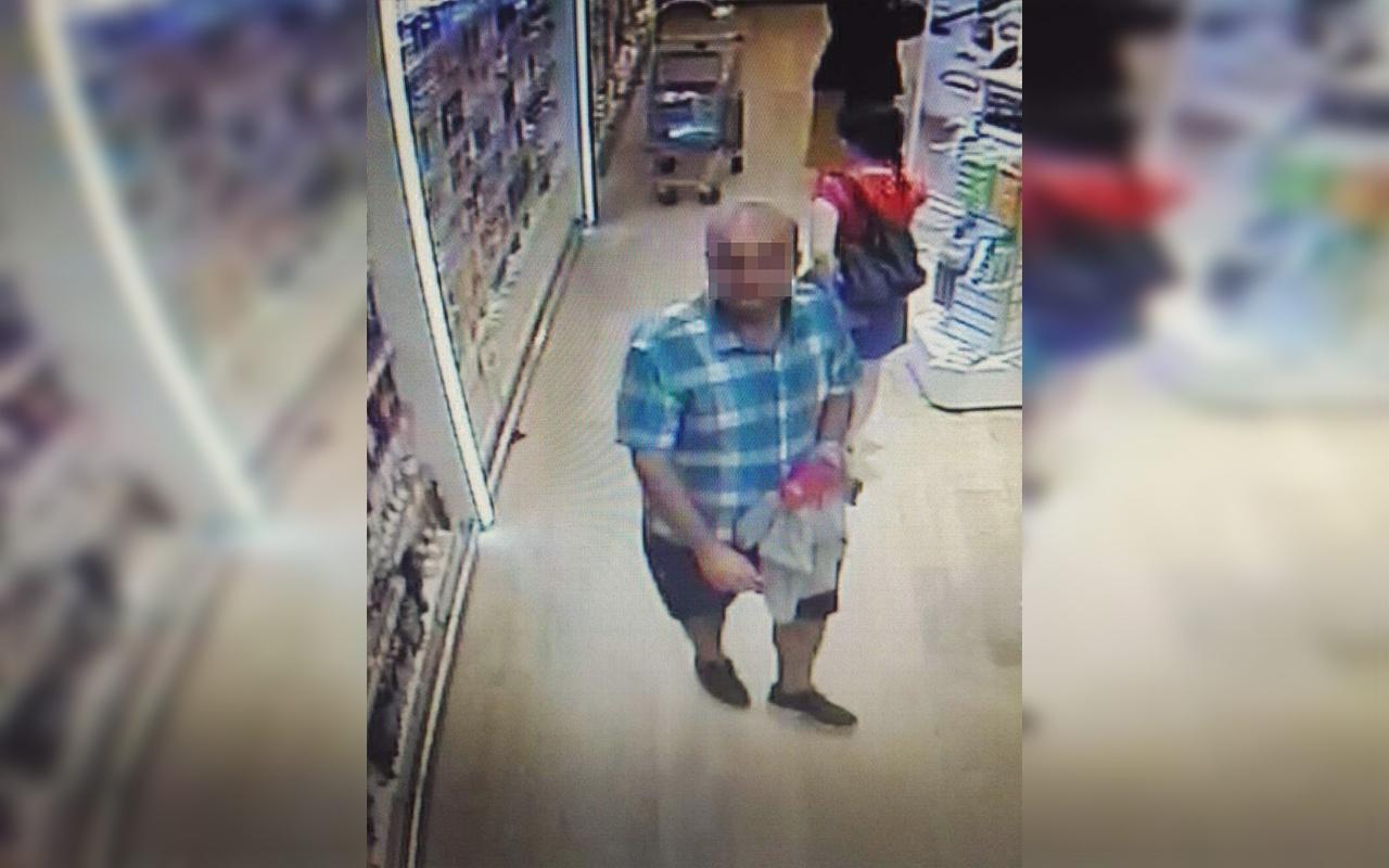 Kocaeli'de marketteki sapık yakalandı