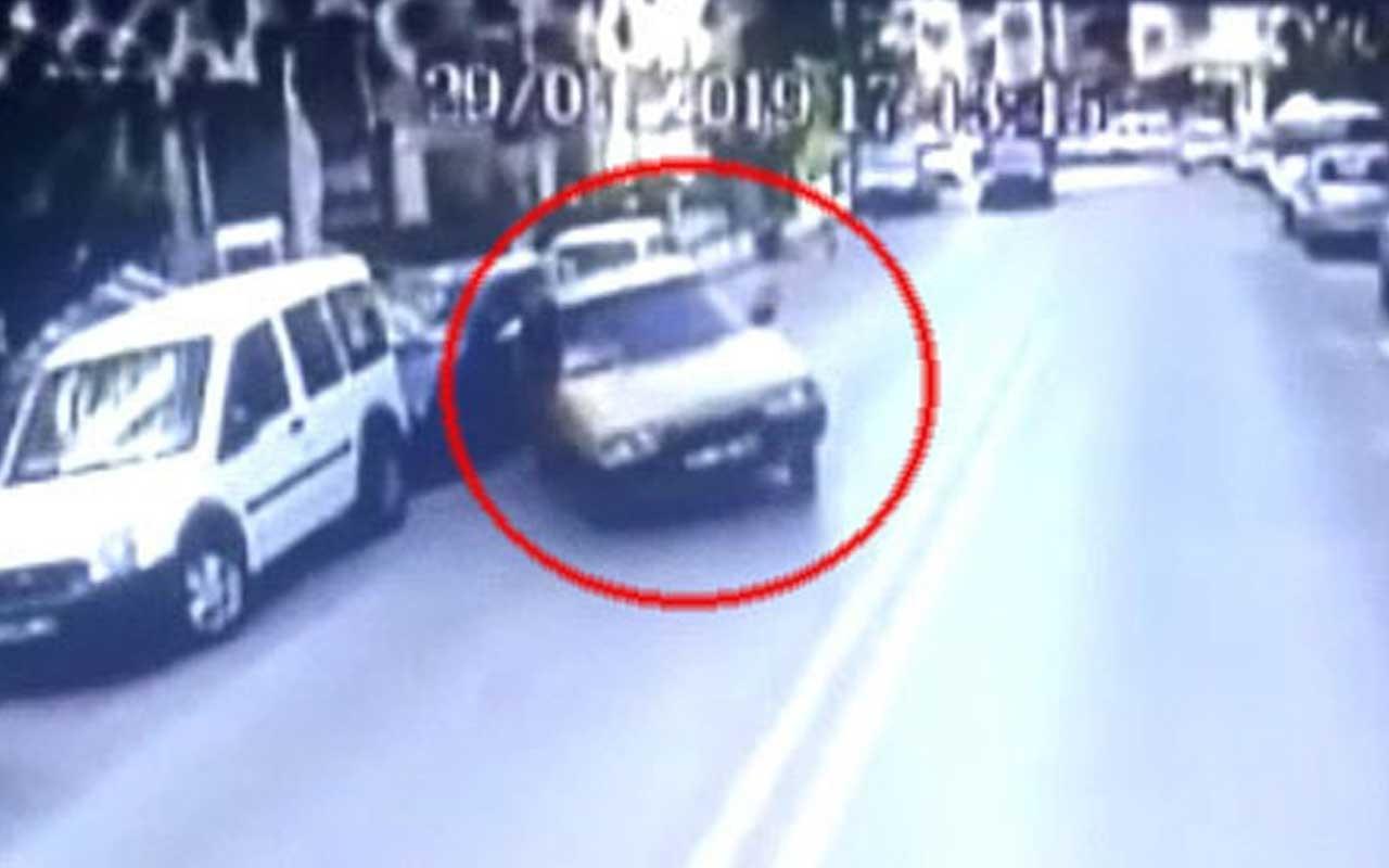 Denizli'de korkunç kaza! Ehliyetsiz sürücü belediye otobüsüne böyle çarptı