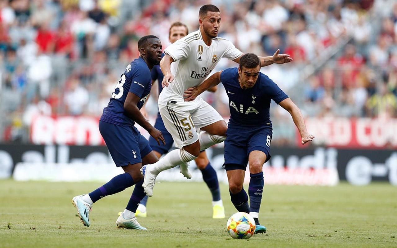 Audi Cup'ta Real Madrid'i yenen Tottenham finale çıktı
