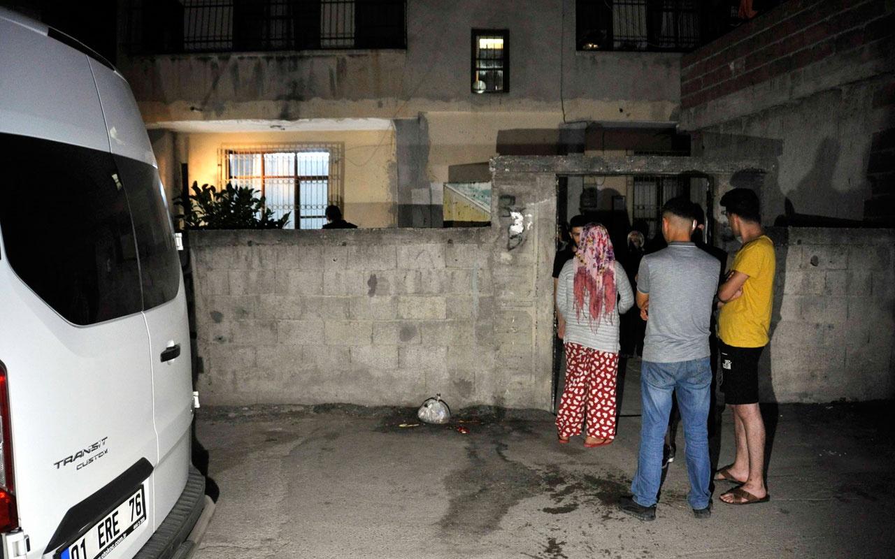 Adana'da bir eve el yapımı patlayıcıatıldı