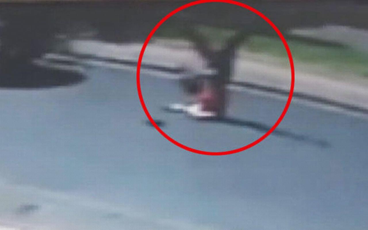 Kayseri'de yolun karşısına geçmeye çalışan genç kıza cip çarptı