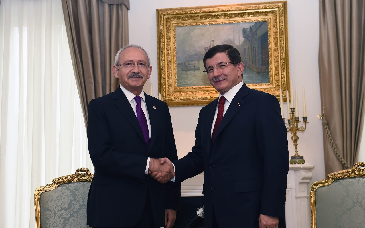 Yeni parti kuracak Davutoğlu'ndan Kılıçdaroğlu'na destek! En kısa zamanda çıkarılmalı
