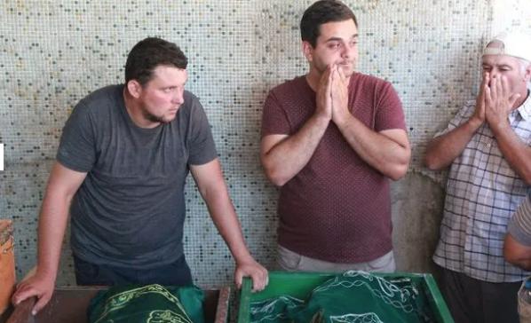 En acı vedanın fotoğrafı! Samsun'da 3 kuzen sonsuzluğa uğurlandı - Sayfa 6