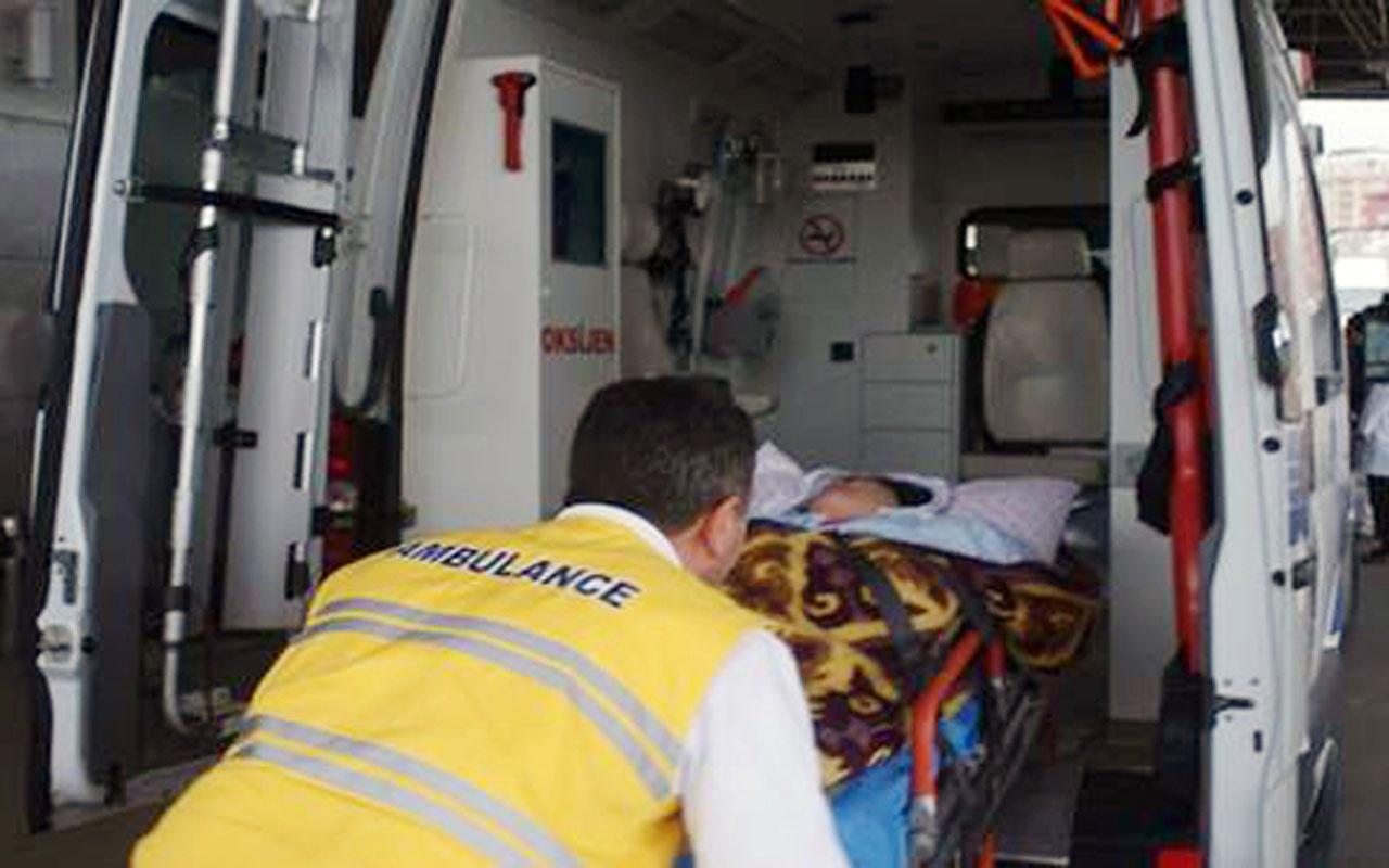 Ordu'da işçi servisi devrildi: 15 yaralı