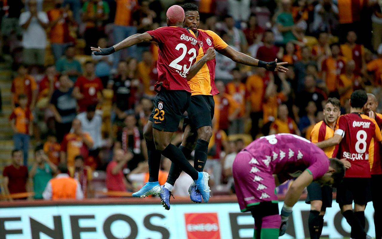 Galatasaray hazırlık maçında Panathinaikos'u devirdi