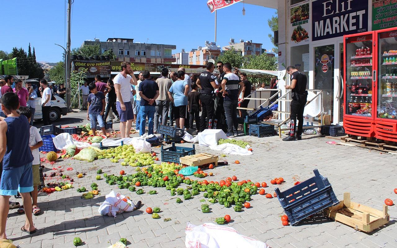 Adıyaman'da cinayet zanlısına mahallelinin öfkesi