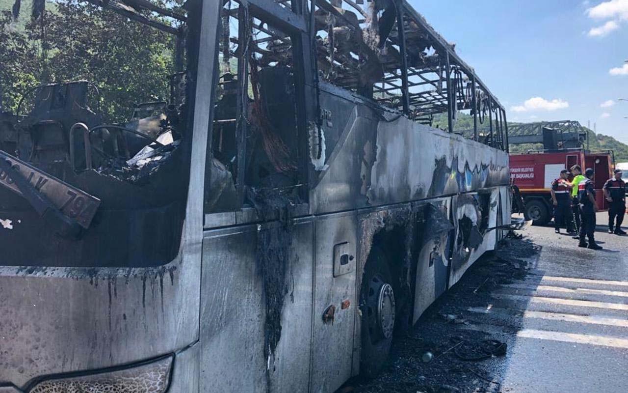 Balıkesir'de kahreden otobüs yangınındaki ölenlerin kimlikleri belirlendi