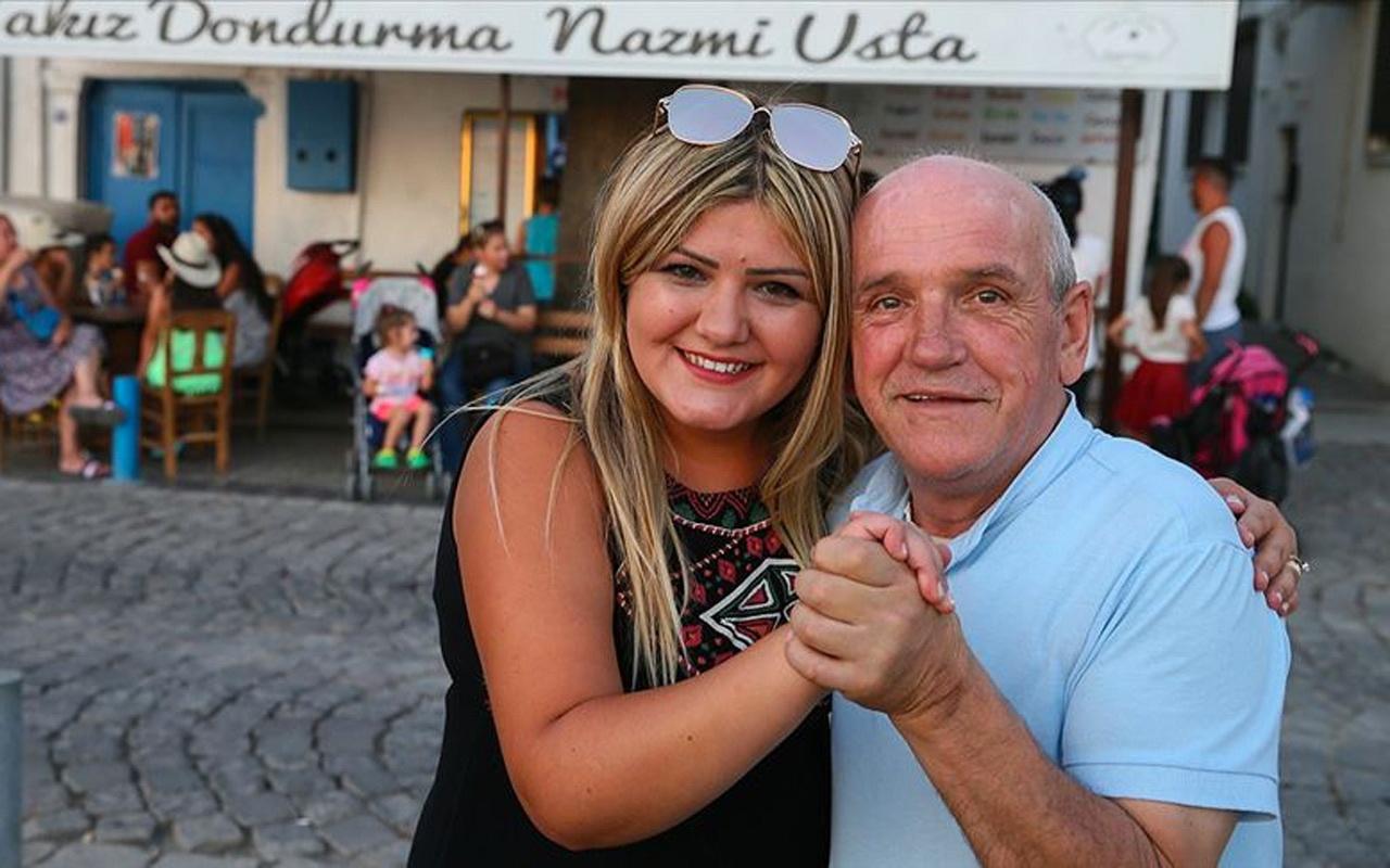 İzmir Foça'da dondurma sırasında hayat kurtardı
