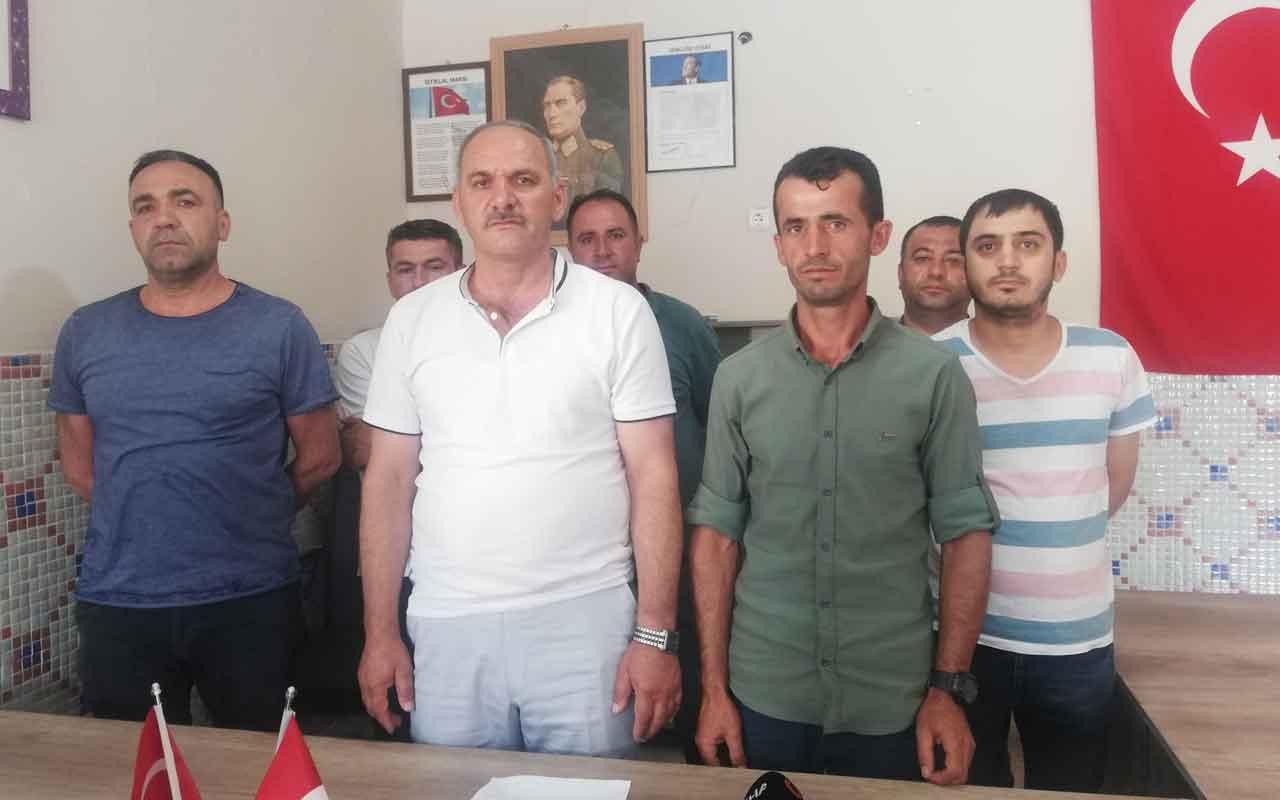 HDP'li meclis üyesi Hikmet Erarslan, AK Parti meclis üyesi korumasını darp etti