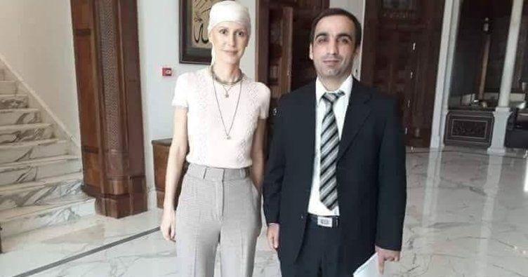 Beşar Esad'ın eşi Esma Esad kanseri yendi son haline bakın