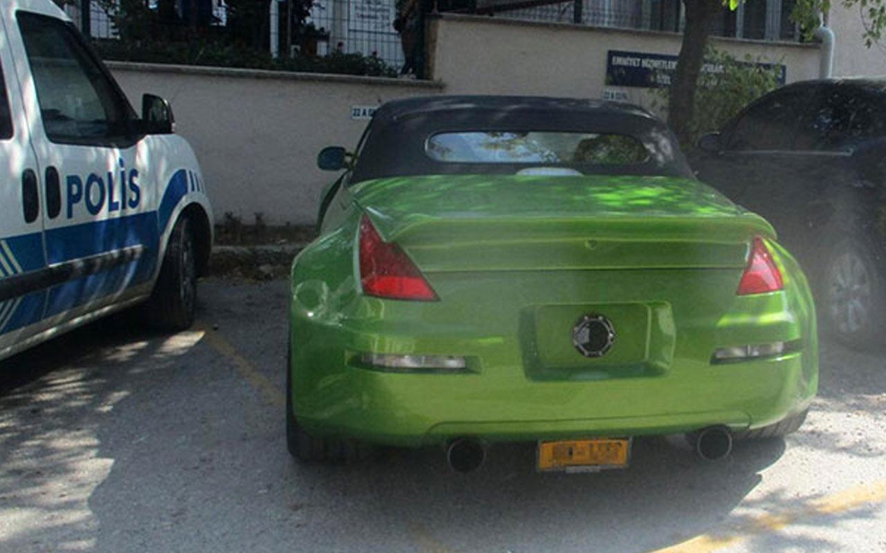 Spor otomobilli gurbetçiye 5 bin TL ceza