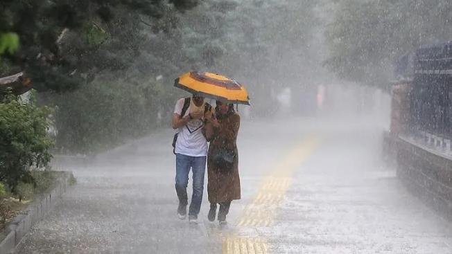 Turuncu alarm verildi! Kuvvetli yağış ve rüzgar uyarısı yapıldı