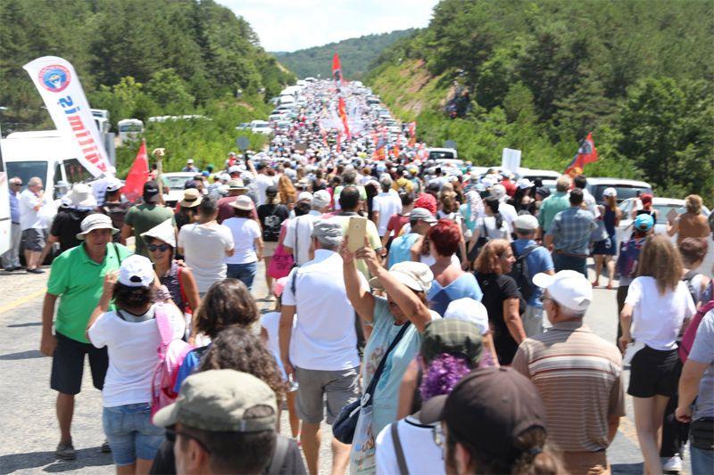Kazdağları yürüyüşü! Kanadalı şirketin alanına girenler şoke oldu - Sayfa 9