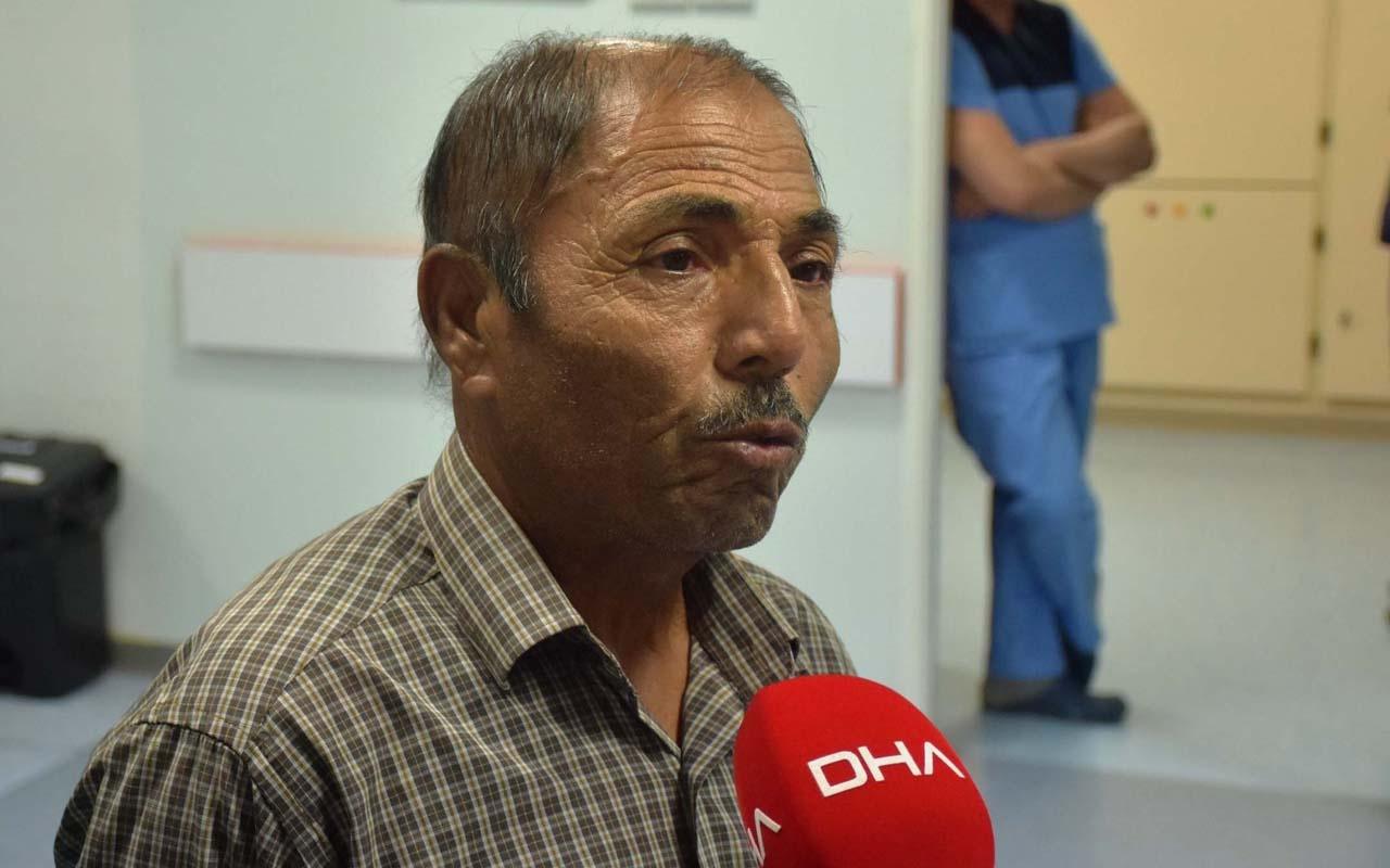Lösemi hastası Malatyalı çiftçinin tedaviden sonra saçları siyahladı!