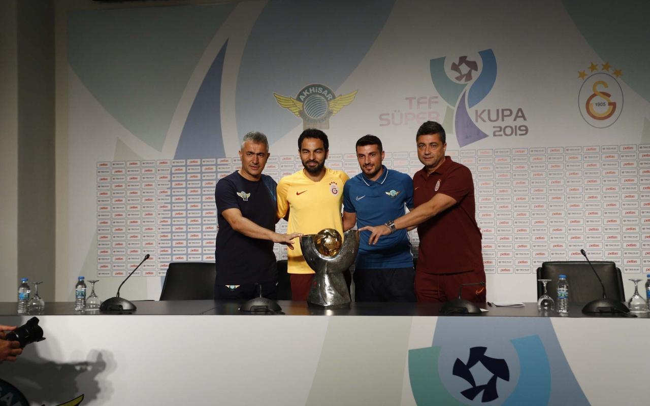 TFF Süper Kupa öncesi iki takım ortak basın toplantısı düzenledi