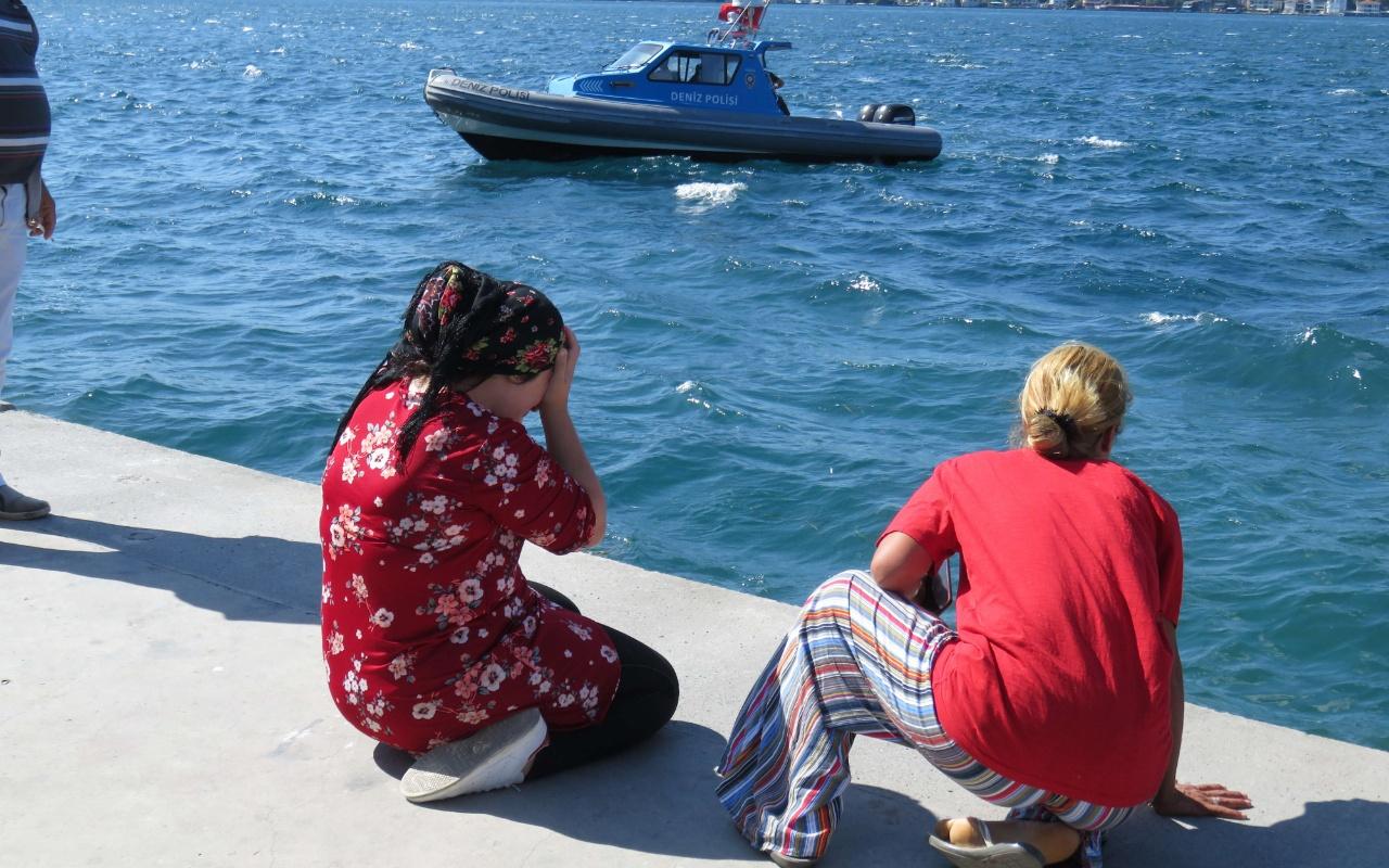 Beykoz'da denizde akıntıya kapılan iki çocuktan biri kayboldu