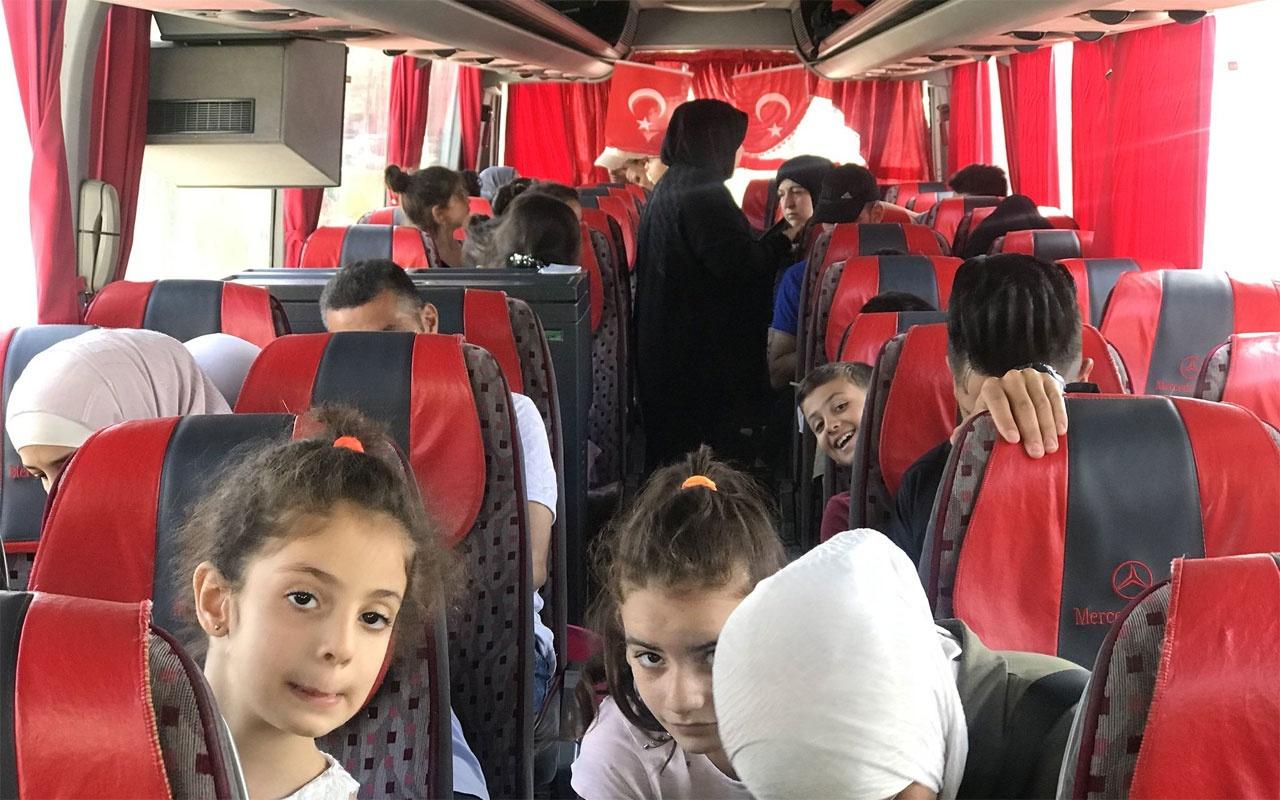 Esenyurt'tan 117 Suriyeli daha ülkelerine gönderildi