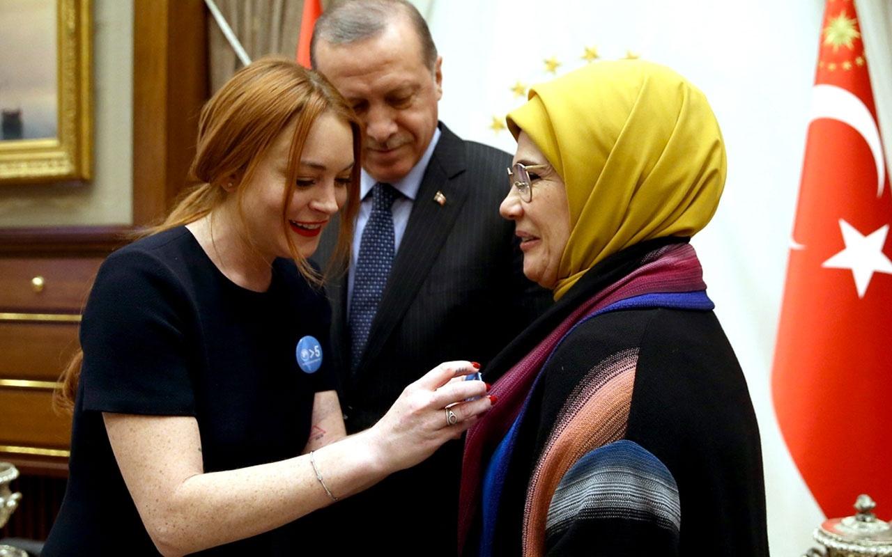 Suudi Arabistan veliahtı Prens Selman'ın aşkı ortaya çıktı Lindsay Lohan ile birlikte