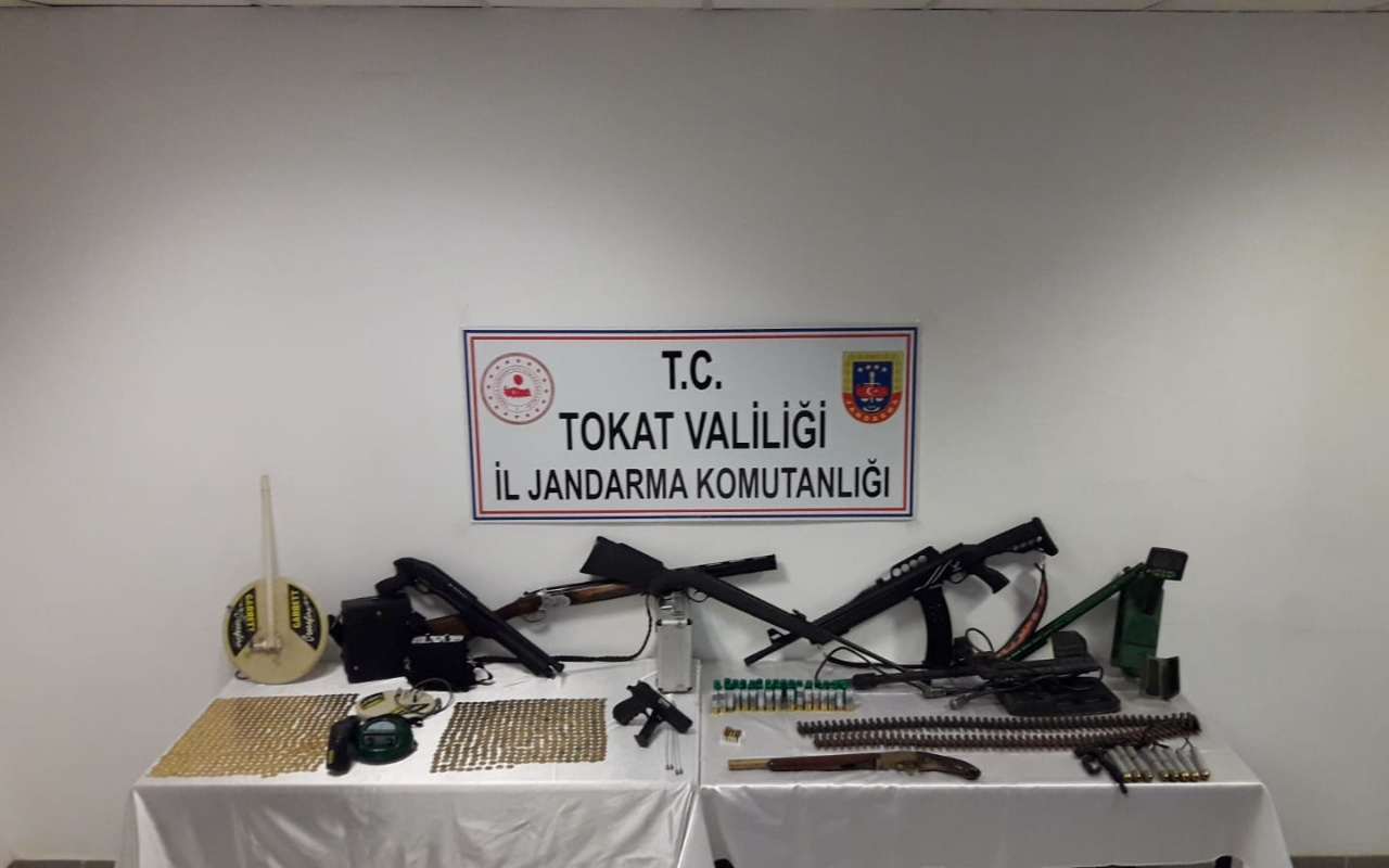 Tokat'taki tarihi eser operasyonunda ele geçirildi! 887 sikke ve...