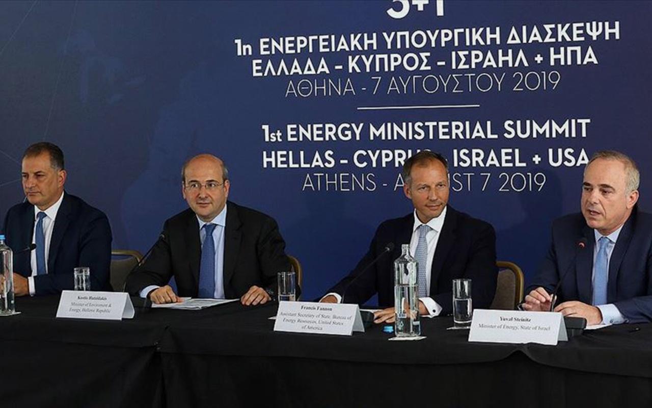 Yunanistan GKRY İsrail ve ABD arasında enerji zirvesi