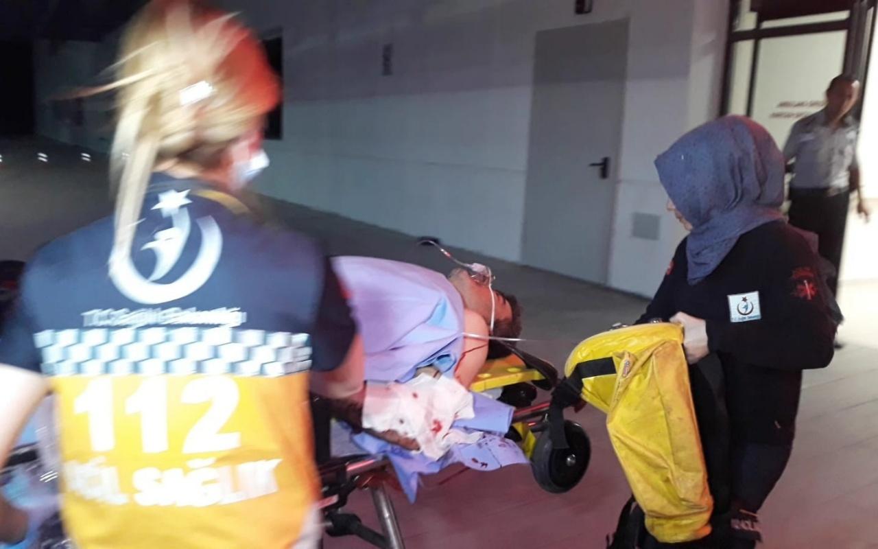 Konya'da komşular arasındaki kavgada silah ateşlendi: 1'i çocuk 3 yaralı