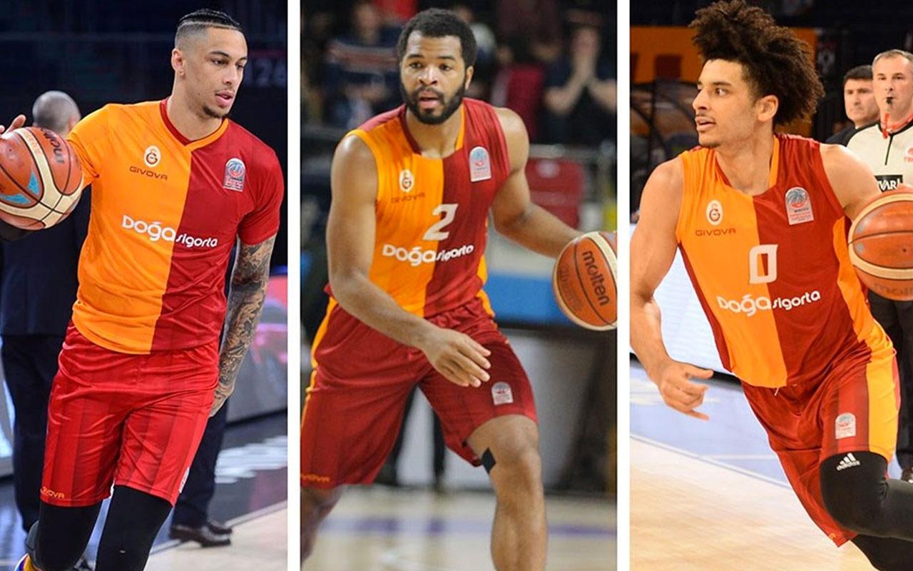 Galatasaray Doğa Sigorta üç oyuncusuyla sözleşme yeniledi